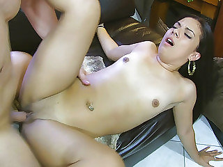 Cock-smacked and fucked raw